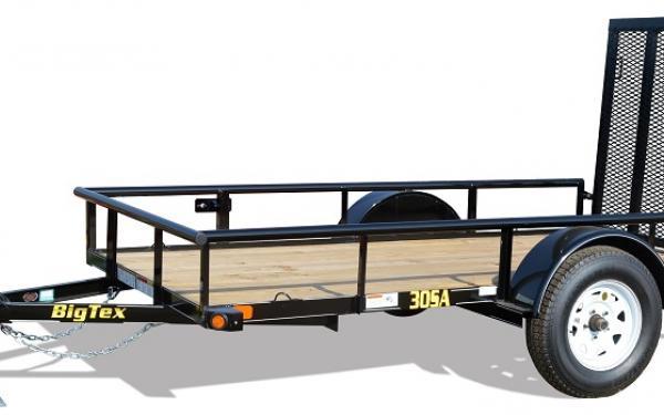 "Big Tex 30SA 60"" Wide Single Axle Utility"