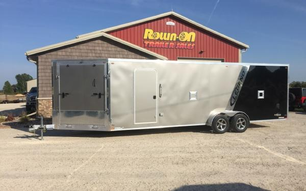 2021 Legend 29' Explorer New 4/5-place enclosed snowmobile trailer in-line
