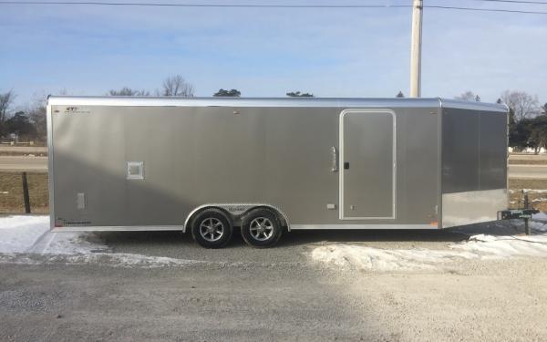 """2021 Legend All-Aluminum """"Trailmaster""""  8.5x28 Snowmobile/ATV/Car Hauler"""