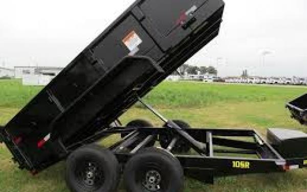 Big Tex 10SR-12 Pro Series Single Ram Dump