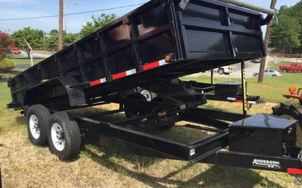 Anderson 17x7' Tandem Axle Dump