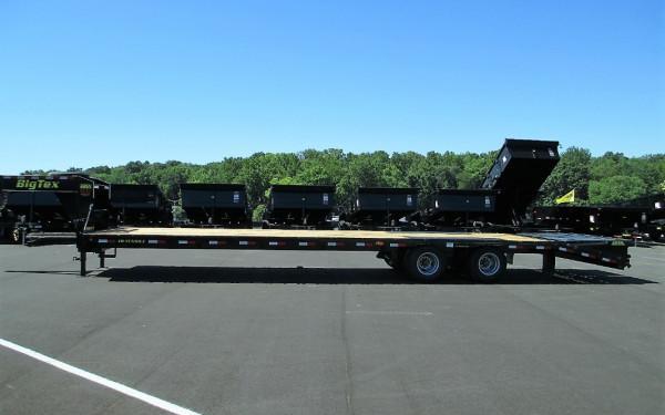 Big Tex 22GN,102x 25 +5 Lo Pro,DT,MegaRamps,Black