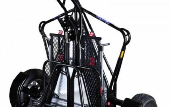 SINGLE RAIL RIDE UP KENDON MOTORCYCLE TRAILER