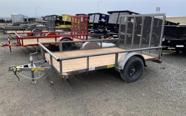 "35SA-77"" x 14 Single Axle Utility Trailer"