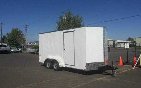 CargoMate E EHW716TA2 Tandem Axle Enclosed Trailer