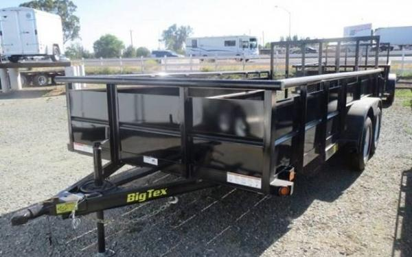 "70TV-83"" x 14 Tandem Axle Vanguard Trailer"