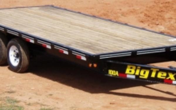Big Tex Over the Alxe Trailer