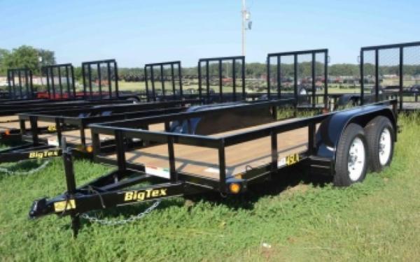 Big Tex Tandem Axle Utility Trailer