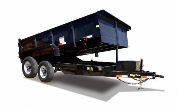 Tandem Axle Low Profile Extra Wide Dump Trailer