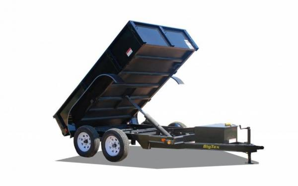 Tandem Axle Single Ram Dump Trailer