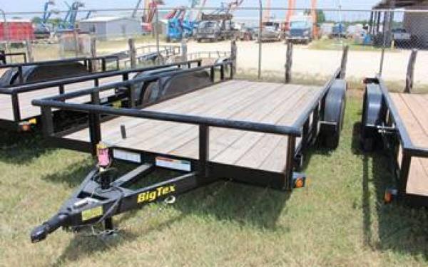 """Big Tex 83""""x18' Tandem Axle"""