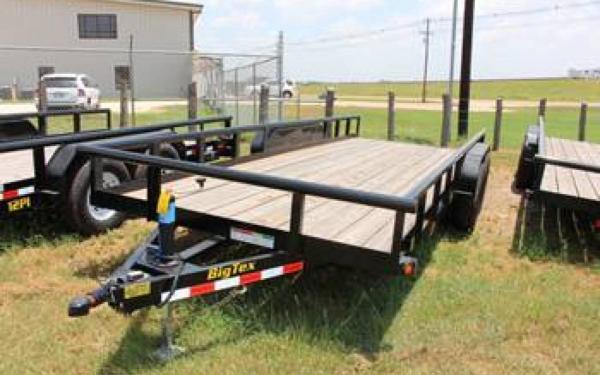 "Big Tex 83""x20' Tandem Axle Equipment Trailer"