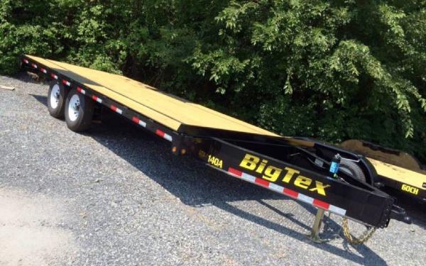 Big Tex 20' Tandem Axle Over the Axle