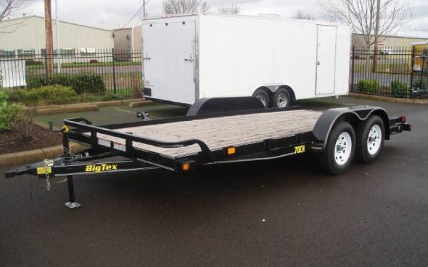 Big Tex B-70CH-18, 7 x 18 Tandem Axle Car Hauler
