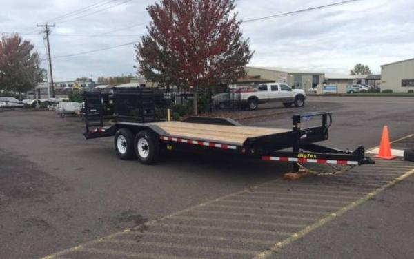 Big Tex E 14DF-20 Tandem Axle 14K Equipment Trailer