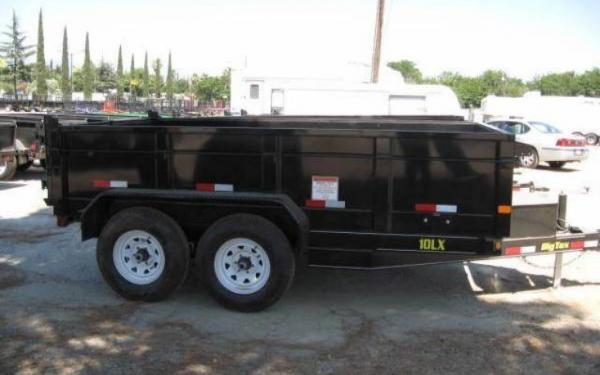 Big Tex 12' Tandem Axle Low Profile Extra Wide Dump