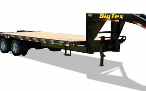 Big Tex 20'+5' Tandem Axle Gooseneck