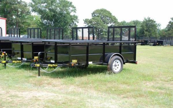 """60""""x10' Big Tex Single Axle Vanguard"""