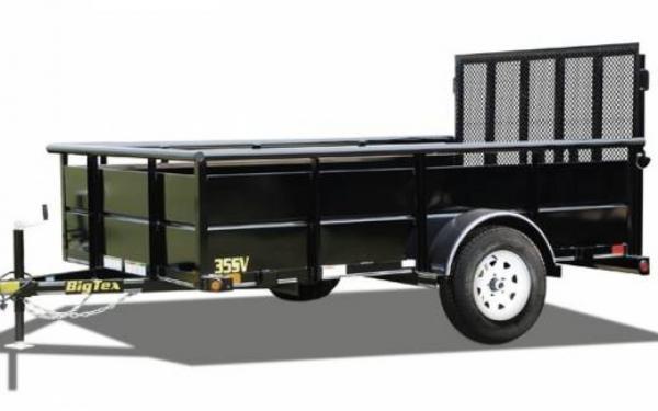 """77""""x12' Big Tex Single Axle Vanguard"""