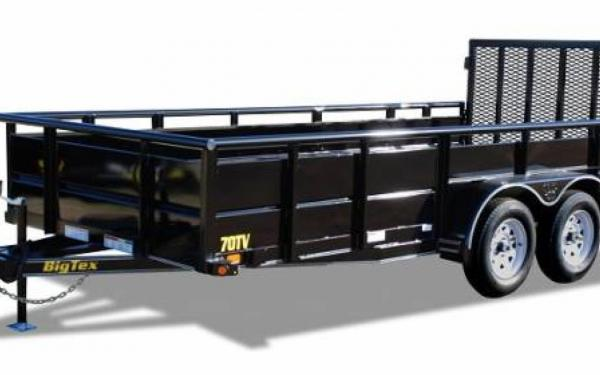 "83""x16' Big Tex Tandem Axle Vanguard"