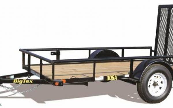 "60""x10' Big Tex Single Axle Utility"