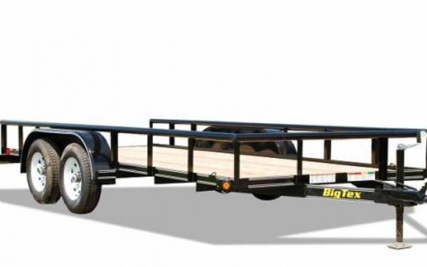 "Big Tex 45SS-77""x16' Tandem Axle utility Trailer"