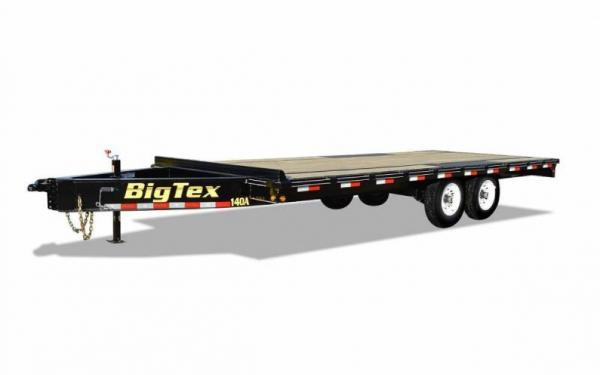 Big Tex 20' Over The Axle Flatbed Trailer