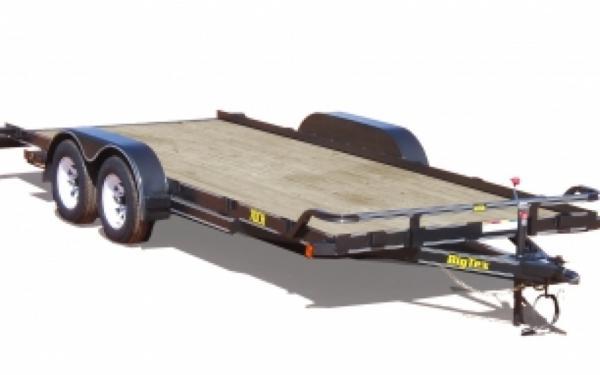 """Big Tex 70CH Tandem Axle Car Hauler 83""""x 20'"""