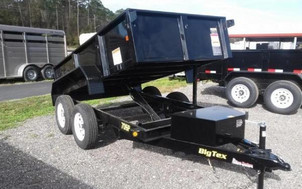 Big Tex 70SR-10 Tandem Axle Single Ram Dump