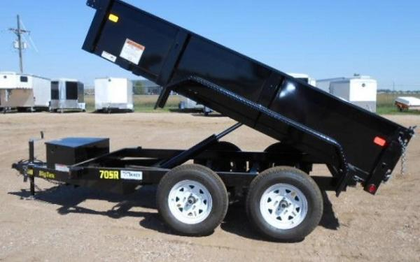 "70SR-60"" x 10 Tandem Axle Single Ram Dump"