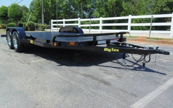 """70DM 83""""x20'  Big Tex Steel Deck Car Hauler"""