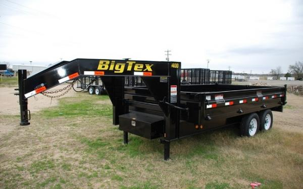 Big Tex 14OD/GN Over The Axle Gooseneck Dump