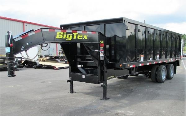 Big Tex 25,900#,TD,25DU,(8X20) 4SIDES Black,8 Slide in Ramps