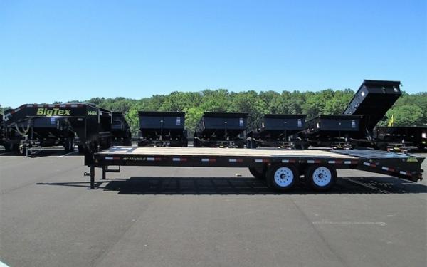 Big Tex 14GN TA,GN,(8 1/2 x 20 +5 Black,5DT with 2-MegaRamps