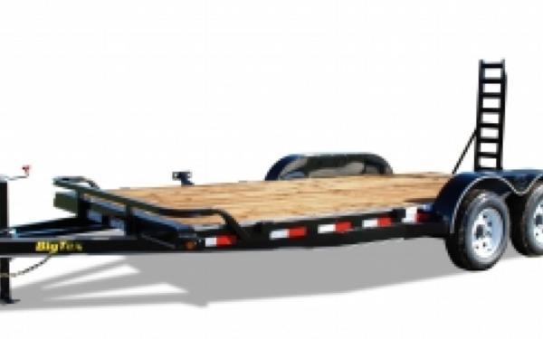 "10ET 83"" x 18' w/ dovetail Big Tex Pro Series Tandem Axle Equipment Trailer"